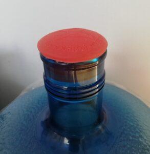 Многоразовая грибовидная силиконовая пробка на бутыли 19 литров