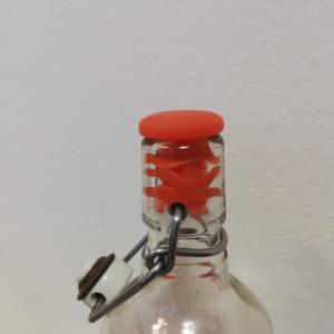 Универсальная силиконовая пробка в бутылке с горлышком 18 мм